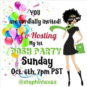 PARTY TIME!! Co-Hosting STYLE PARTY - October 6th